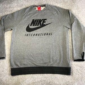 RARE!! Nike International Crewneck Gray L